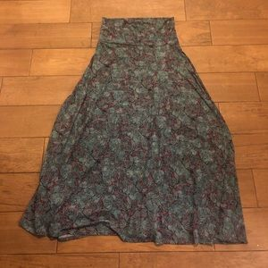 NWOT Lularoe Maxi skirt Medium
